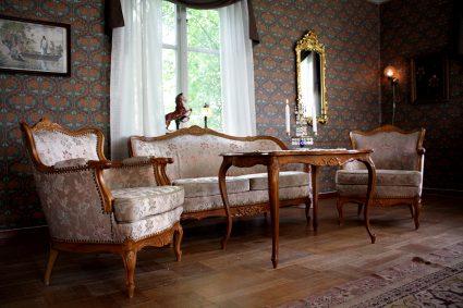 Salongen i huset